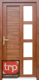 Termoplast modelo de porta simples Zenit Lambrie