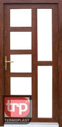 Termoplast modelo de porta simples Selene