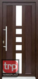Termoplast modelo de porta simples Sirius Panel