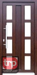 Termoplast modelo de porta simples Midas