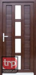 Termoplast modelo de porta simples Ouna