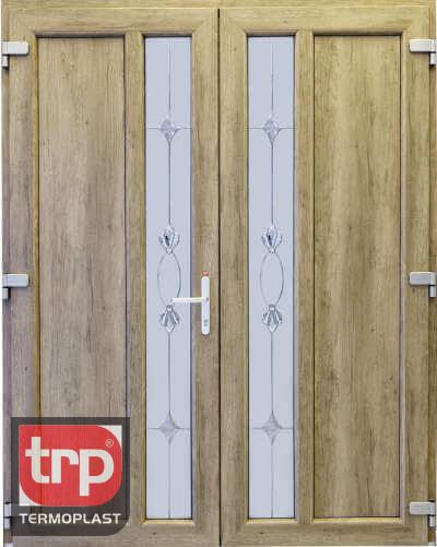 Termoplast Modelo de porta dupla de cristal