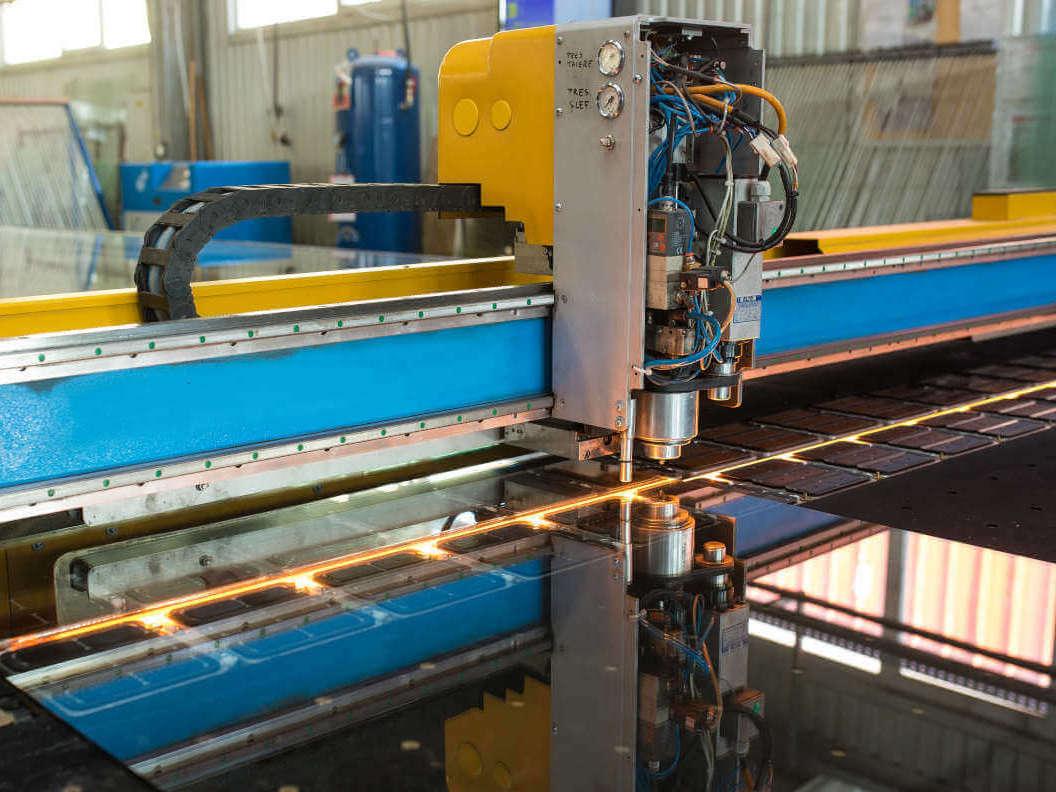 Fábrica de vidro Termoplast